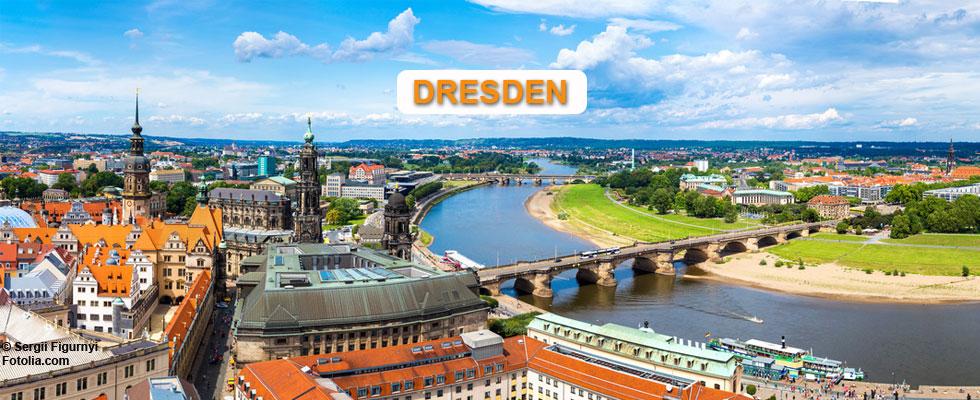 Dresden wo ich wohne und arbeite
